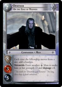 lotr tcg treachery and deceit denethor on the edge of madness