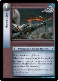 lotr tcg treachery and deceit eomer s bow