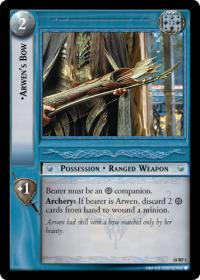 lotr tcg treachery and deceit arwen s bow foil
