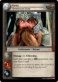 lotr tcg ages end gimli opinionated guide