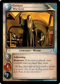 lotr tcg ages end gandalf wise guide