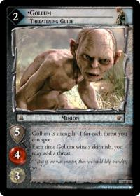 lotr tcg ages end gollum threatening guide