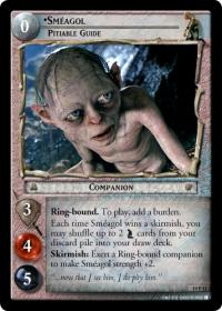 lotr tcg ages end smeagol pitiable guide