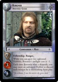lotr tcg ages end boromir destined guide