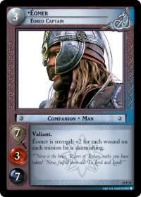 lotr tcg ages end eomer eored captain