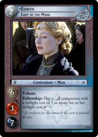 lotr tcg ages end eowyn lady of the mark
