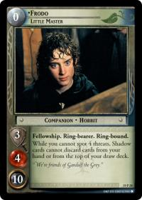 lotr tcg ages end frodo little master