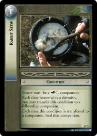 lotr tcg ages end rabbit stew