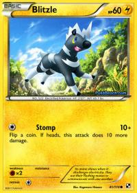 pokemon black and white base set blitzle 41 114