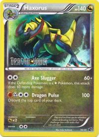 pokemon dragon vault haxorus 16 20 promo