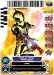 power rangers guardians of justice gold rpm ranger 003