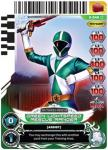 power rangers guardians of justice green lightspeed rescue ranger 046