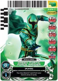 power rangers guardians of justice green mystic force ranger 076