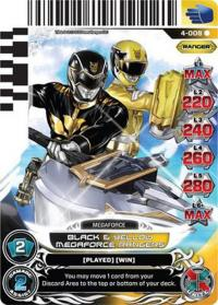 power rangers legends unite black and yellow megaforce rangers 008