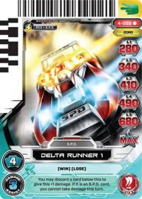 power rangers legends unite delta runner 1 059