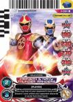 power rangers legends unite crimson and navy thunder rangers 064