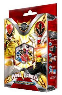 power rangers power rangers sealed universe of hope starter deck