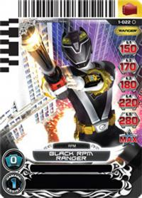 power rangers rise of heroes black rpm ranger 022