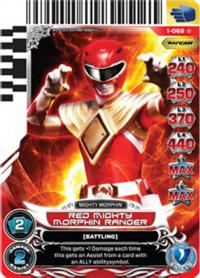 power rangers rise of heroes red mighty morphin ranger 068