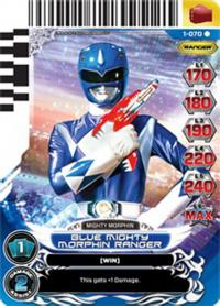 power rangers rise of heroes blue mighty morphin ranger 070