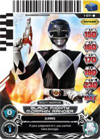 power rangers rise of heroes black mighty morphin ranger 071