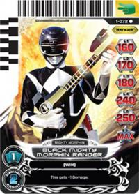 power rangers rise of heroes black mighty morphin ranger 072
