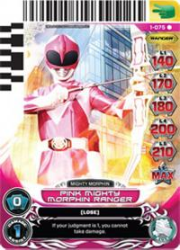 power rangers rise of heroes pink mighty morphin ranger 075