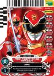 power rangers universe of hope red megaforce ranger 003