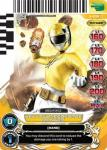 power rangers universe of hope yellow megaforce ranger 009