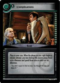 star trek 2e reflections 2 0 complications foil