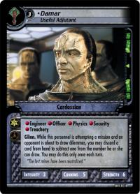 star trek 2e reflections 2 0 damar useful adjutant foil