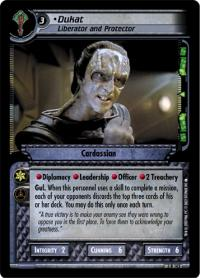 star trek 2e call to arms dukat liberator and protector