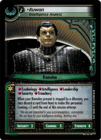 star trek 2e call to arms ruwon intelligence analyst
