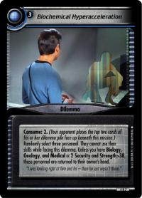 star trek 2e reflections 2 0 biochemical hyperacceleration foil