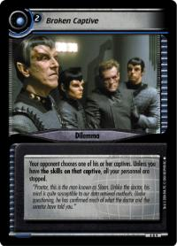 star trek 2e reflections 2 0 broken captive foil