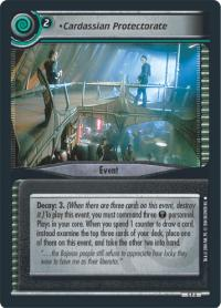 star trek 2e fractured time cardassian protectorate