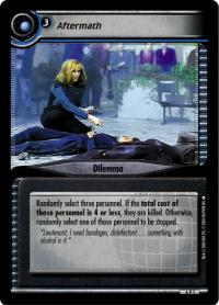 star trek 2e reflections 2 0 aftermath foil