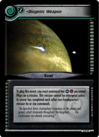 star trek 2e reflections 2 0 biogenic weapon foil