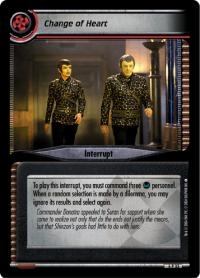 star trek 2e reflections 2 0 change of heart foil