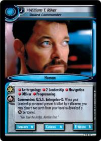 star trek 2e dangerous missions william t riker skilled commander