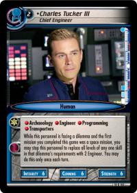 star trek 2e captains log charles tucker iii chief engineer