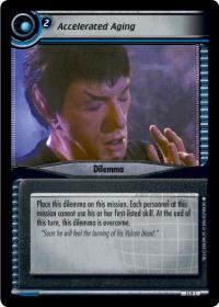 star trek 2e genesis collection accelerated aging