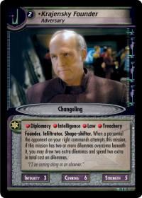 star trek 2e these are the voyages krajensky founder adversary