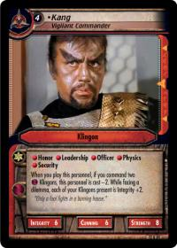 star trek 2e these are the voyages kang vigilant commander
