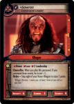 star trek 2e what you leave behind gowron celebrated leader