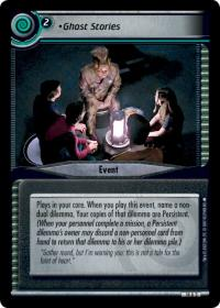 star trek 2e what you leave behind ghost stories foil