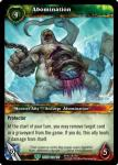 warcraft tcg reign of fire abomination