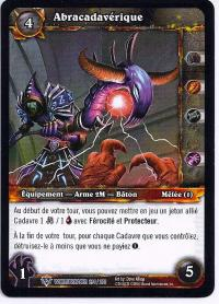 warcraft tcg worldbreaker foreign abracadaver french