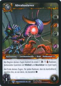 warcraft tcg worldbreaker foreign abracadaver german