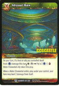 warcraft tcg war of the elements abyssal maw